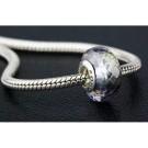 Meteorite with Snap Clasp Bracelet