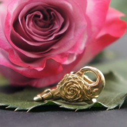 Brass Rose Lock