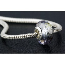 Meteorite with Snap Clasp Bracelet